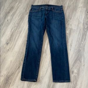 Fidelity relaxed skinny jeans blue size 27